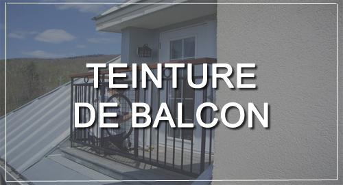 TEINTURE DE BALCON